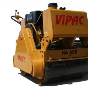 VIPAC HA650 DOUBLE DRUM ROLLER REBUILD