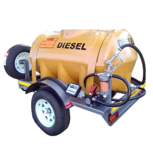 1000 Litre Plastic Tank (Oval Shape) for Diesel